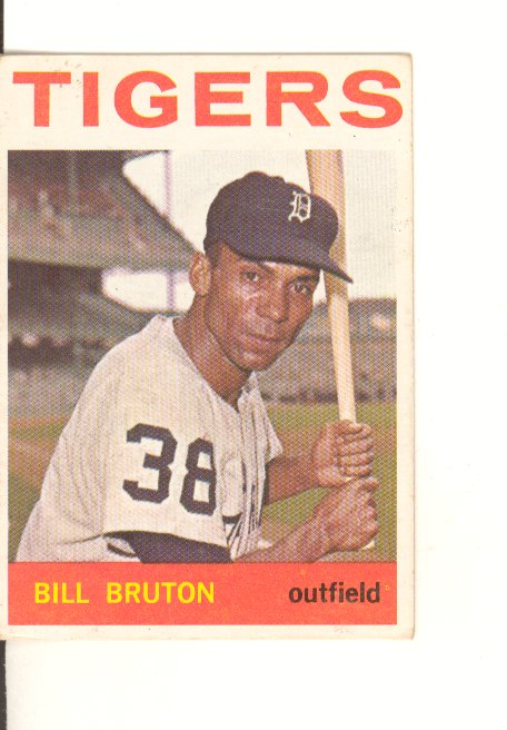 1964 Topps #98 Bill Bruton
