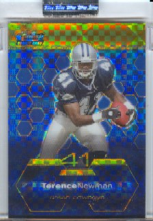 2003 Finest Xfractors #79 Terence Newman