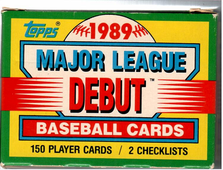 1990 TOPPS DEBUT BASEBALL FACTORY SET 1989