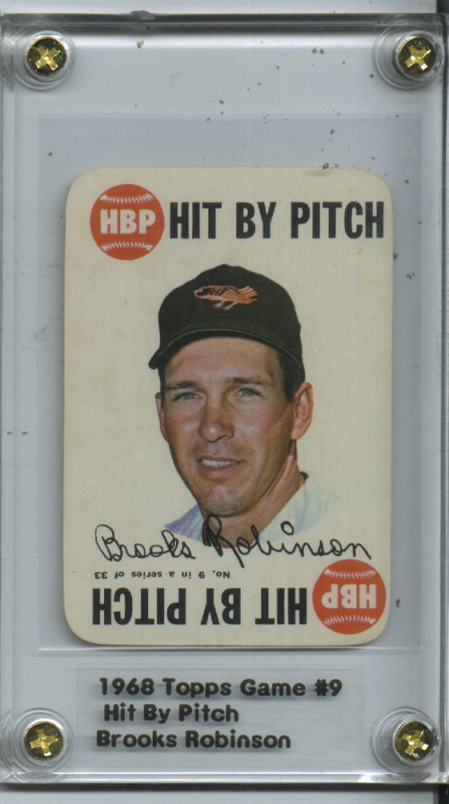 1968 Topps Game #9 Brooks Robinson