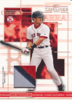 2004 Donruss Timelines Material Prime #36 Nomar Garciaparra Jsy
