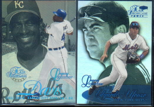 1999 Flair Showcase Legacy Collection Row 3 #119 Edgardo Alfonzo