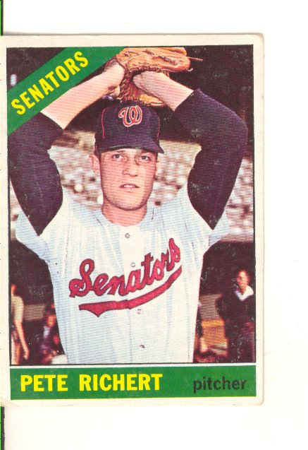 1966 Topps #95 Pete Richert