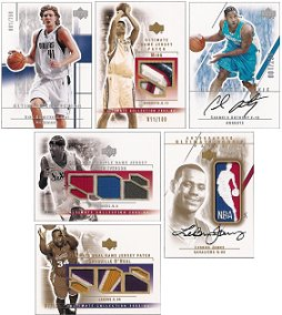 2003-04 (2004) Upper Deck Ultimate Collection Basketball Factory Sealed Box