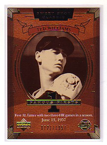 2004 Sweet Spot Classic #154 Ted Williams FF/1957