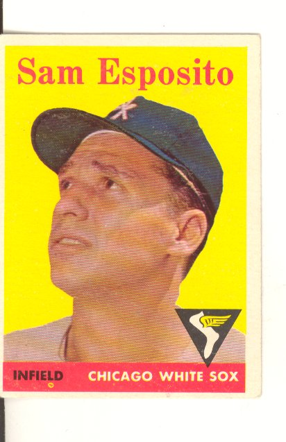 1958 Topps #425 Sammy Esposito front image
