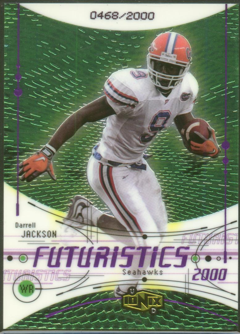 2000 UD Ionix #115 Darrell Jackson RC