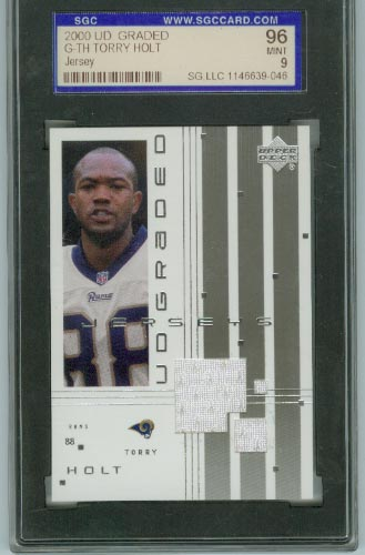 2000 UD Graded Jerseys #GTH Torry Holt
