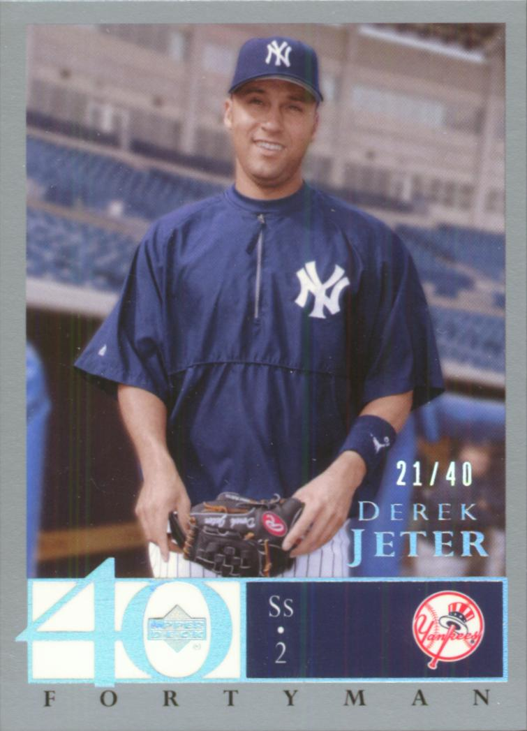 2003 Upper Deck 40-Man Rainbow #327 Derek Jeter