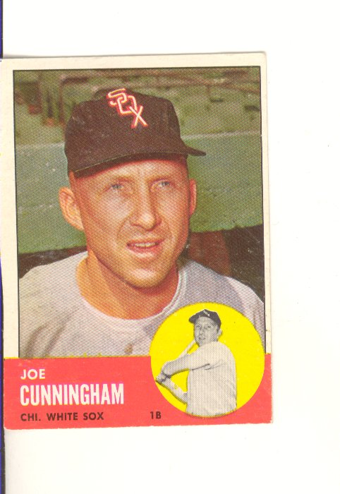 1963 Topps #100 Joe Cunningham