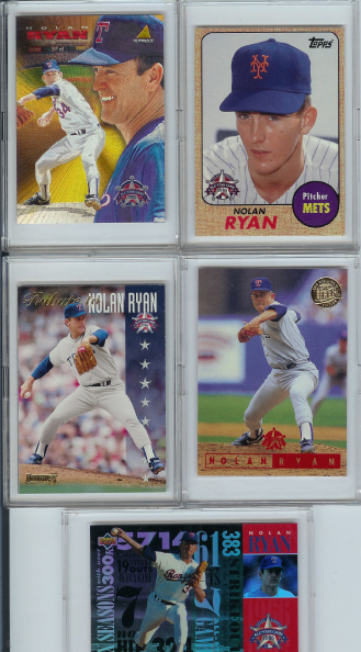 1995 All-Star FanFest Nolan Ryan 5 Card Set