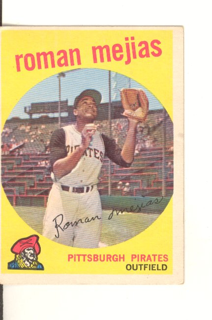 1959 Topps #218 Roman Mejias front image