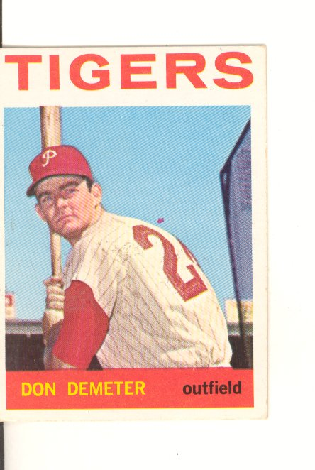 1964 Topps #58 Don Demeter