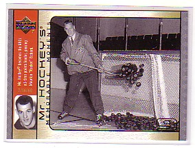 2003-04 Upper Deck Mr. Hockey #GH10 Gordie Howe