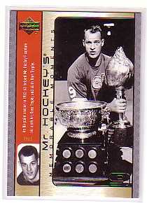 2003-04 Upper Deck Mr. Hockey #GH11 Gordie Howe