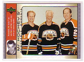 2003-04 Upper Deck Mr. Hockey #GH18 Gordie Howe