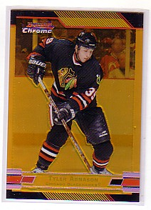 2003-04 Bowman Chrome Gold Refractors #13 Tyler Arnason