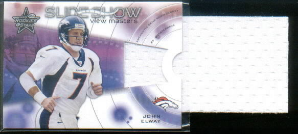 2001 Leaf Rookies and Stars Slideshow View Masters #SS13 John Elway