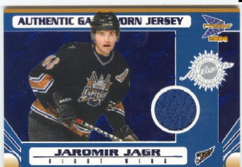 2003-04 Pacific Prism Blue #150 Jaromir Jagr