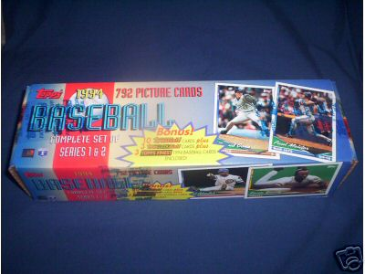 1994 TOPPS BASEBALL CARD SET FACTORY SEALED MINT NICE!! 792 Cards!