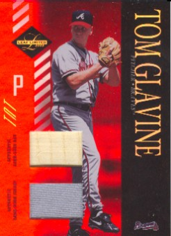 2003 Leaf Limited TNT #65 T.Glavine Braves A Bat-Jsy