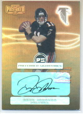 2001 Playoff Preferred Signatures Bronze #90 Doug Johnson