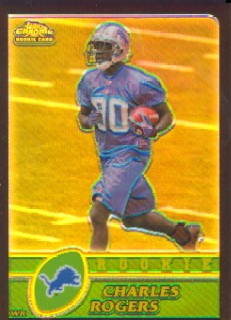 2003 Topps Chrome Black Refractors #210 Charles Rogers