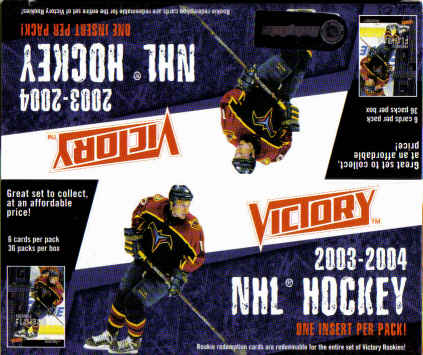 2003-04 UD Victory Hockey Box