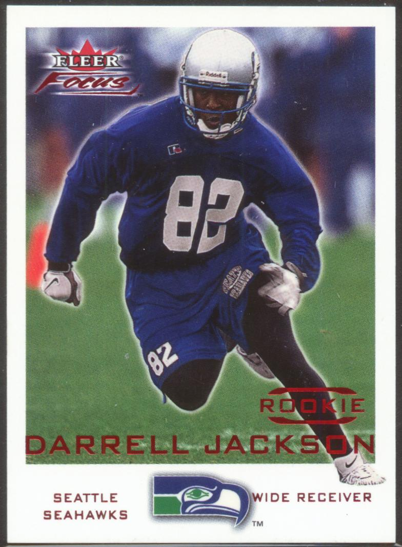 2000 Fleer Focus #229 Darrell Jackson RC