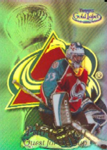 1999-00 Topps Gold Label Quest for the Cup Black #QC4 Patrick Roy