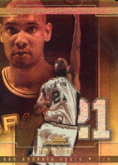 2003-04 Fleer Showcase Legacy #99 Tim Duncan
