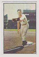 1953 Bowman Color #128 Whitey Lockman front image