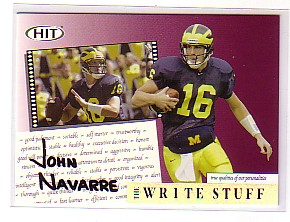 2004 SAGE HIT Write Stuff #5 John Navarre