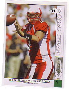 2004 SAGE HIT #7 Ben Roethlisberger
