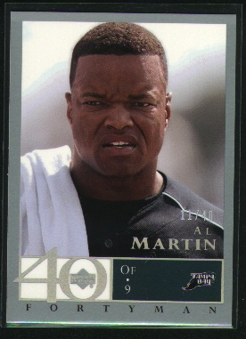 2003 Upper Deck 40-Man Rainbow #88 Al Martin