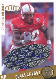 2003 SAGE HIT Class of 2003 Autographs #A30 Dahrran Diedrick