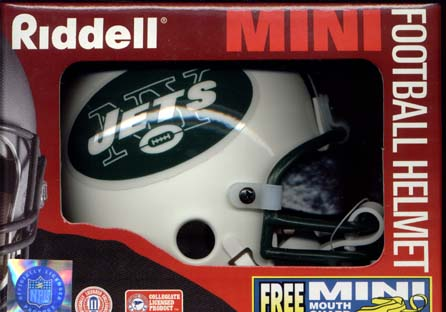 New York Jets Riddell Mini Helmet
