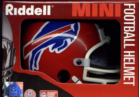 Buffalo Bills Riddell Mini Helmet