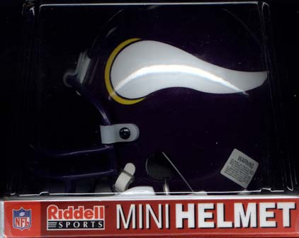 Minnesota Vikings Riddell Mini Helmet