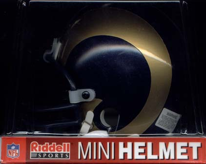 St. Louis Rams Riddell Mini Helmet