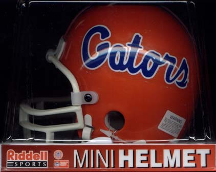 Univercity of Florida, Gators Riddell Mini Helmet