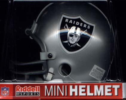 Oakland Raiders Riddell Mini Helmet