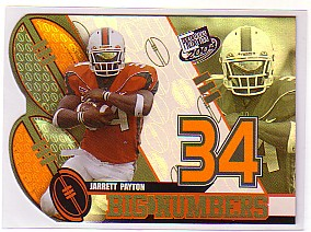 2004 Press Pass Big Numbers #BN17 Jarrett Payton