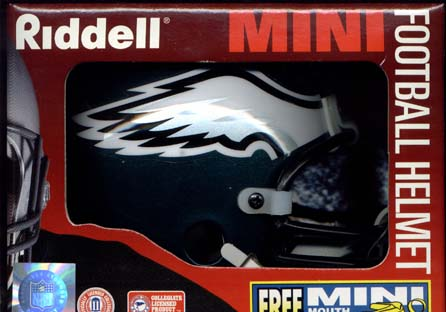 Philadelphia Eagles Riddell Mini Helmet
