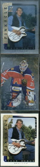 1998-99 Be A Player Autographs #209 Sean Burke