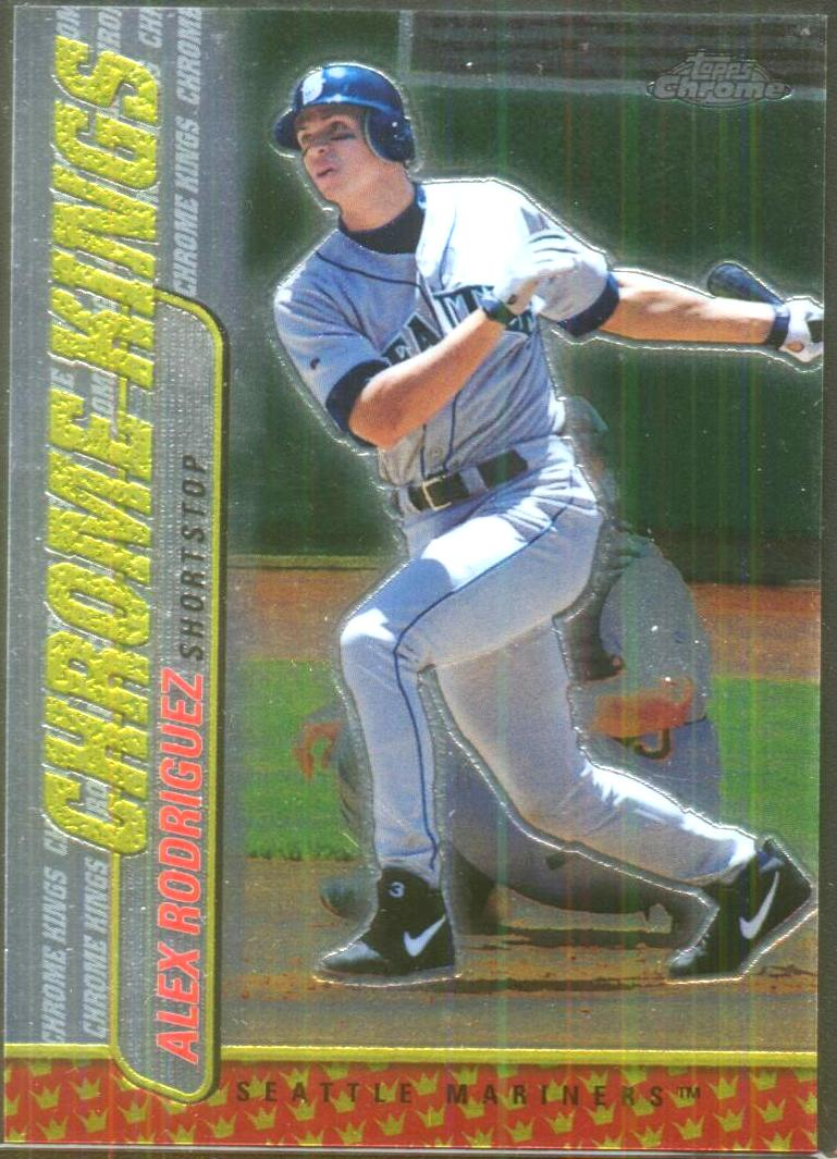 2000 Topps Chrome Kings #CK5 Alex Rodriguez