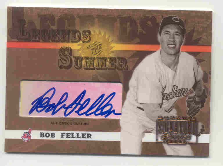 2003 Donruss Signature Legends of Summer Autographs #7 Bob Feller