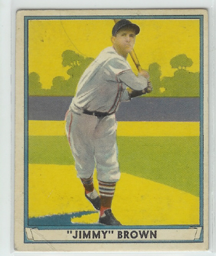 1941 Play Ball #12 Jimmy Brown