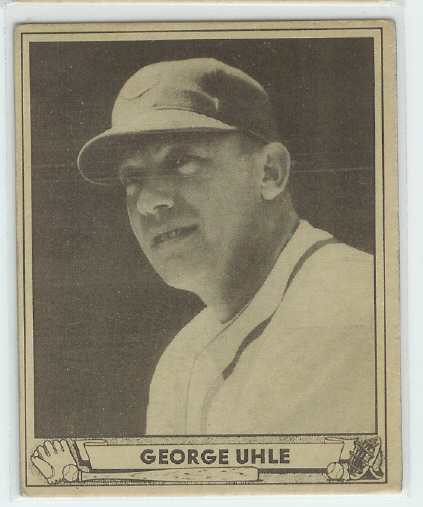 1940 Play Ball #239 George Uhle