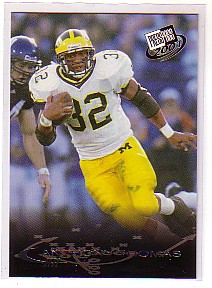 2001 Press Pass #15 Anthony Thomas